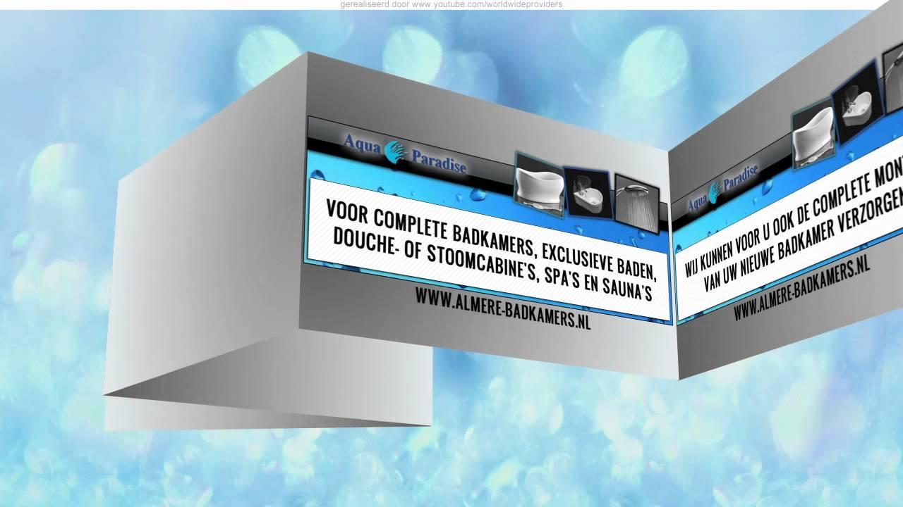 Complete Badkamer Almere : Aqua paradise almere youtube