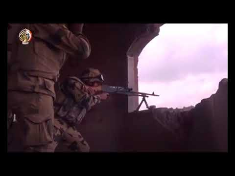 clashes between ISIS and the Egyptian army In North Sinai