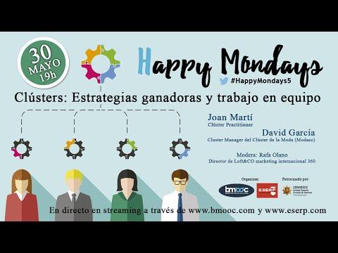 Clústers: Estrategias ganadoras y trabajo en equipo ⎪Happy Mondays 5