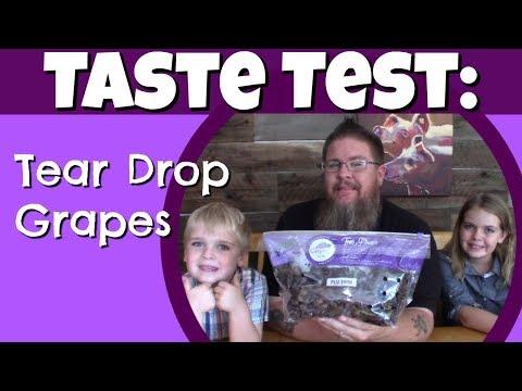 Healthy Food Taste Test || Tear Drop Grapes