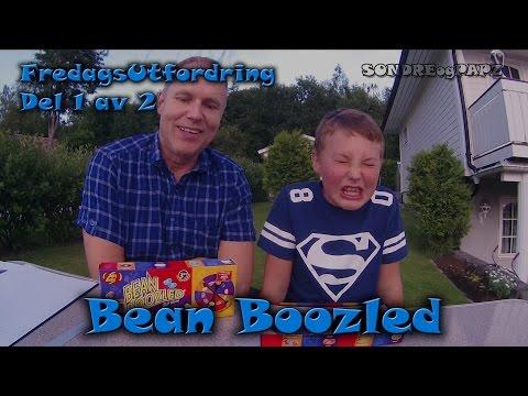 Del 1 av 2 med Bean Boozled i FredagsUtfordring