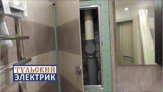Скрытый люк, ремонт ванной комнаты в хрущевке Тула
