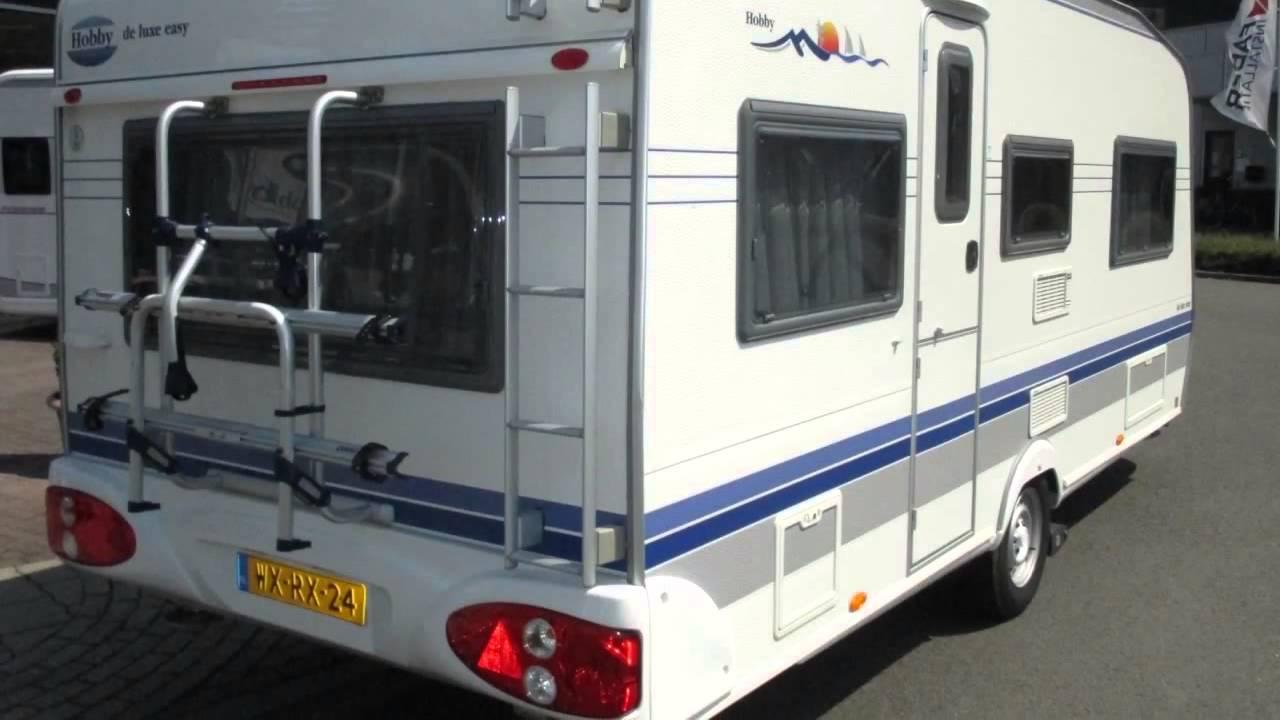 caravan te koop hobby de luxe easy 495 ul verkocht. Black Bedroom Furniture Sets. Home Design Ideas