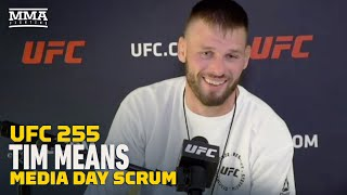 UFC 255: Tim Means: Mike Perry A 'Bully,' And Best Way To Beat Bully Is To Break Him - MMA Fighting