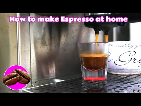 How to make the best coffee with your home espresso machine