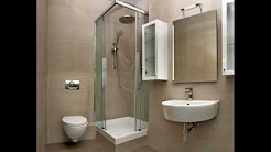 Square room bathroom design