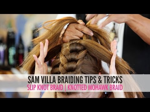Slip Tie Braid | Knotted Mohawk Braid