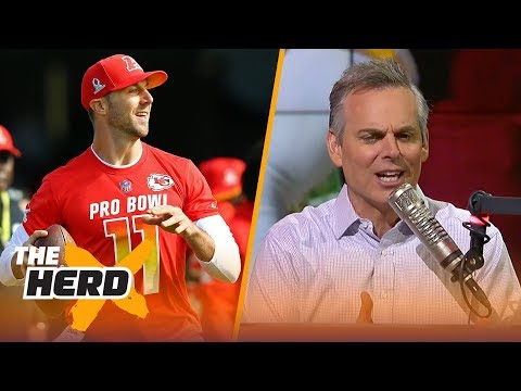Colin reacts to the Kansas City Chiefs trading Alex Smith to the Washington Redskins | THE HERD