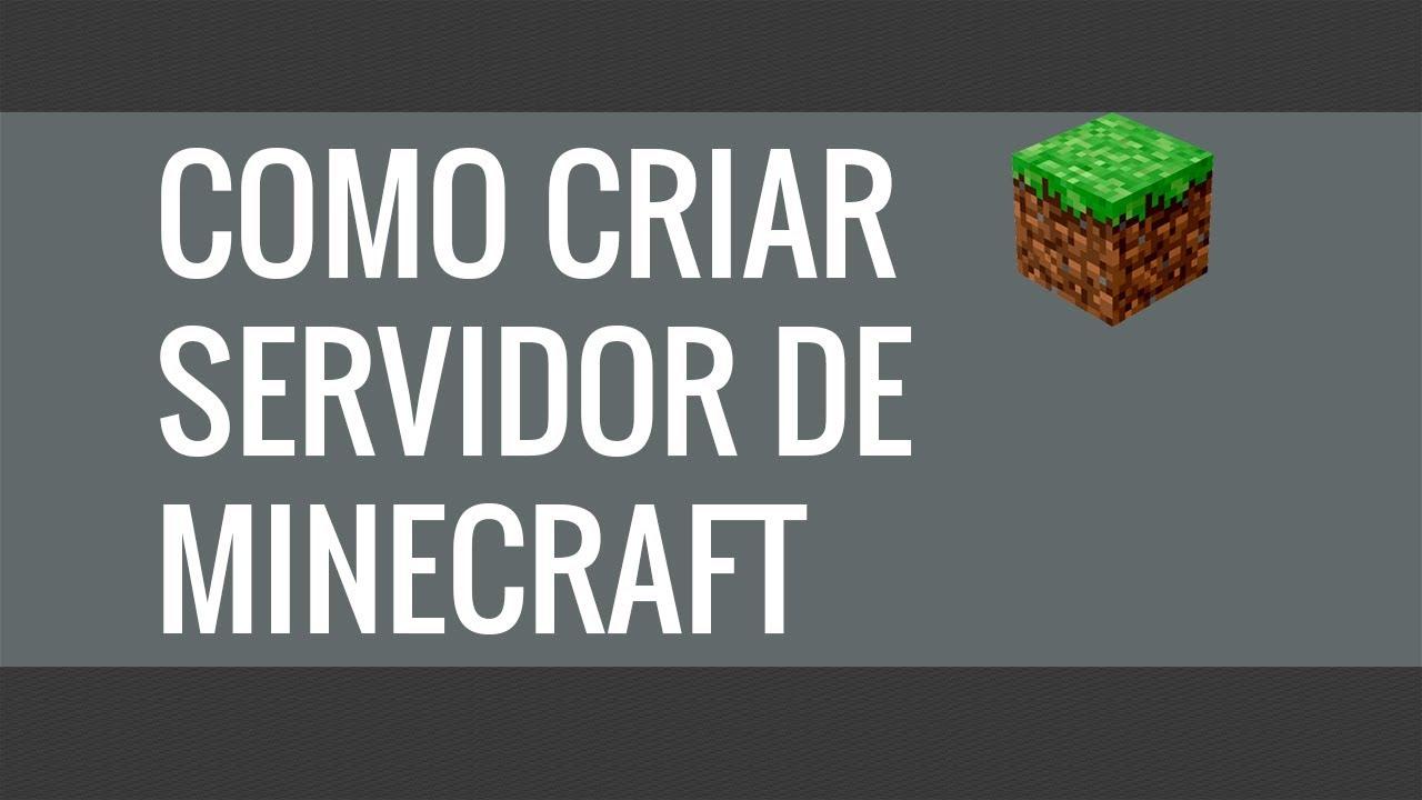 Tutorial Como criar um servidor de Minecraft Pirata e ...