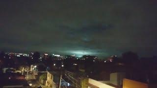Extrañas Luces en el Cielo Durante el Terremoto en México 2017