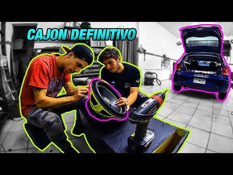 CAJON NUEVO PARA EL SUBWOOFER DE RAMA (GOL TREND) - Lucas Ramirez