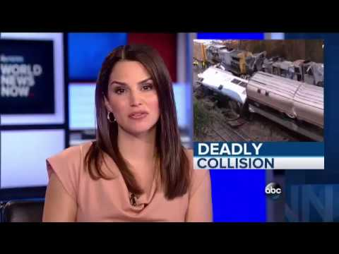South Carolina Amtrak CSX Crash - Tim Pulliam reports for ABC News