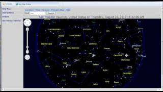 Sky Map Online Instructions - 1
