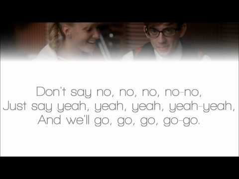 Glee - Marry You (Lyrics)