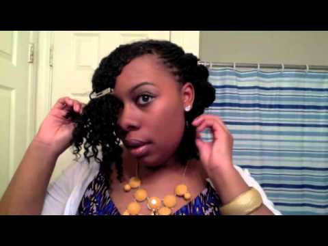 How to Style Your Short Twists, Braids, Locs: 3 Quick ...