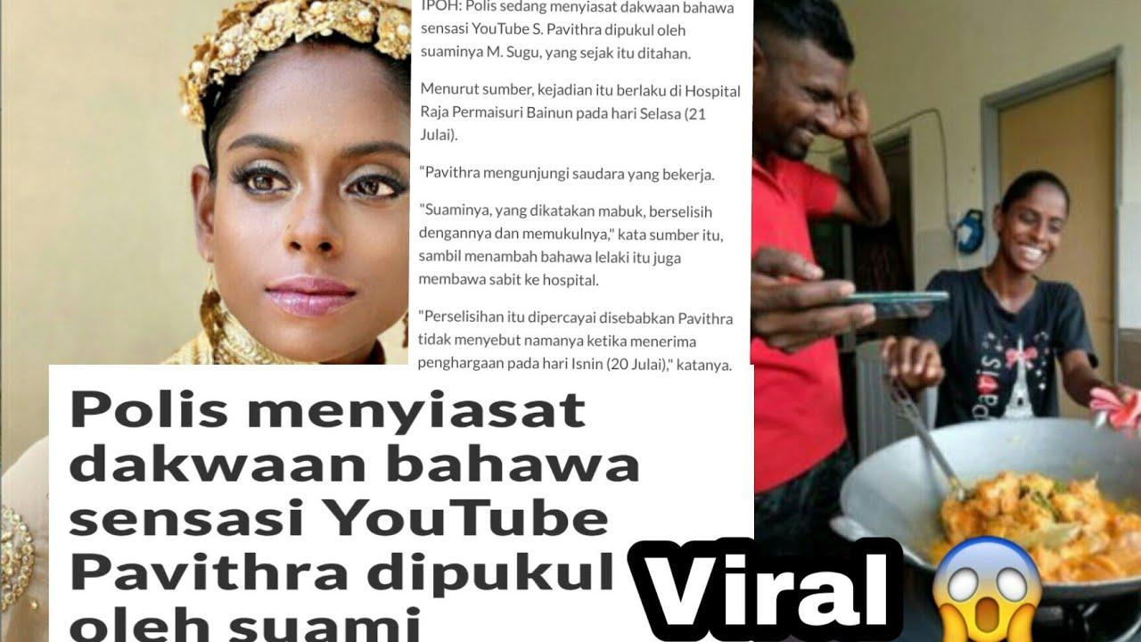 Suami Youtuber Terkenal Ditahan Polis kerana Dera Isteri ...