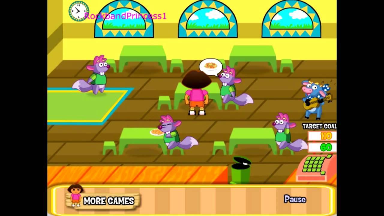Dora Restaurant Games - Play Free Dora Games! - YouTube