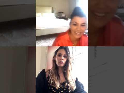 Kourtney Kardashian   Instagram Live Stream   April 15, 2020