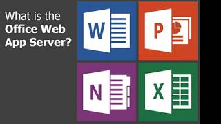 Configure Office web app server