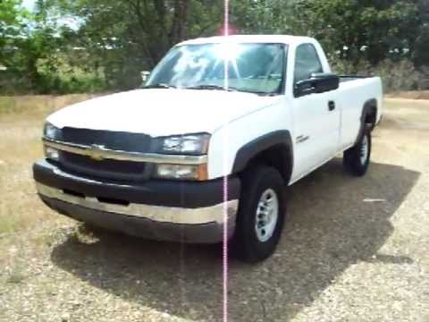 2004 chevy silverado 2500hd regular cab duramax 0054 youtube. Black Bedroom Furniture Sets. Home Design Ideas