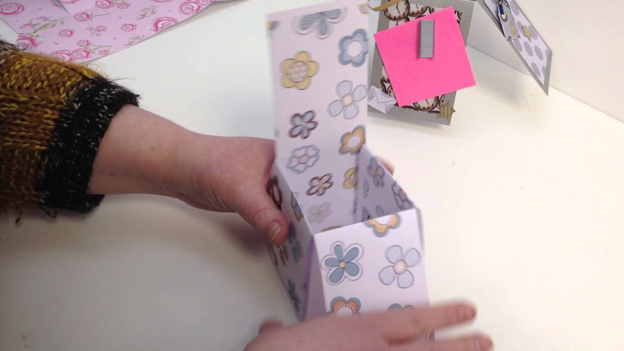 How To Make A Popup Box Card Without Measuring By Nikky Hall
