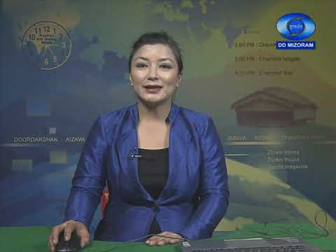 DD News Mizoram | 17th October 2020 | 3:00 PM
