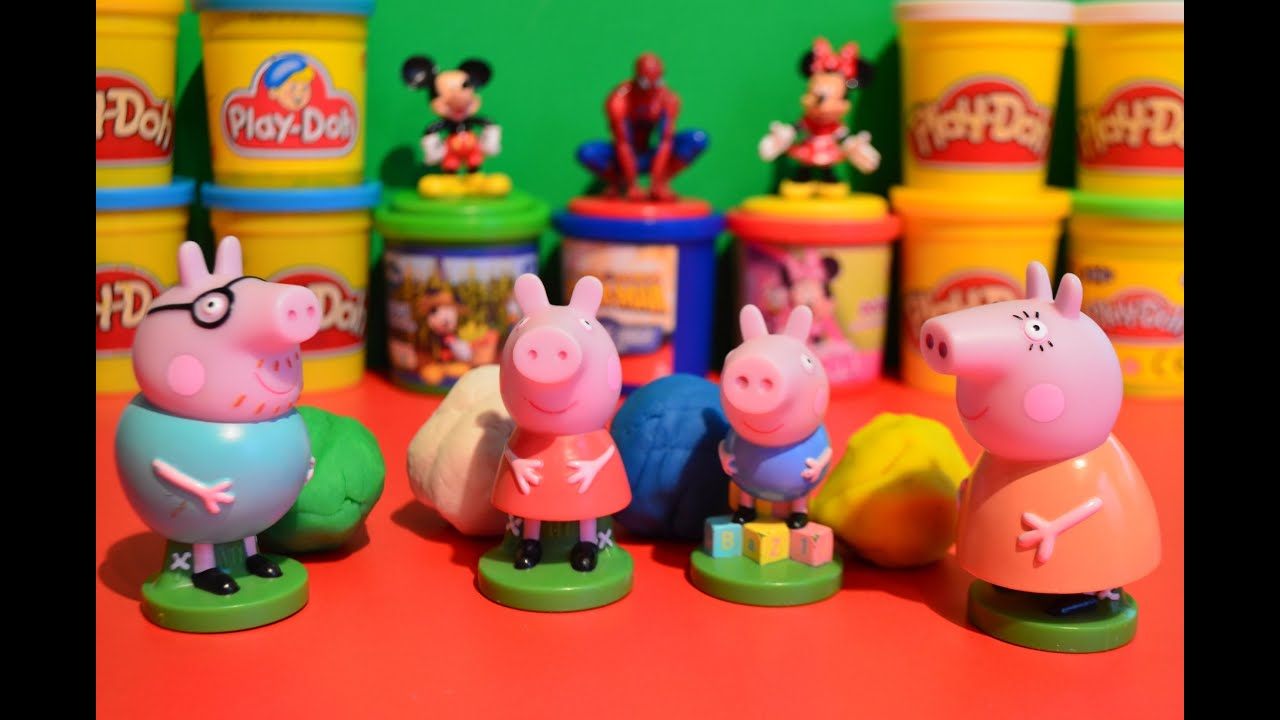 Christmas Playdough Creations