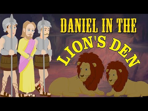 Daniel In The Lion's Den | Kids Bible Stories | English Animated Bible Stories For Children | 4K UHD