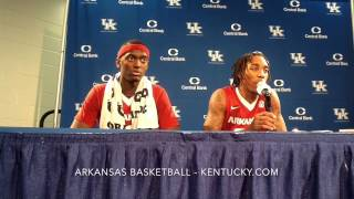 Arkansas after loss at No. 1 Kentucky
