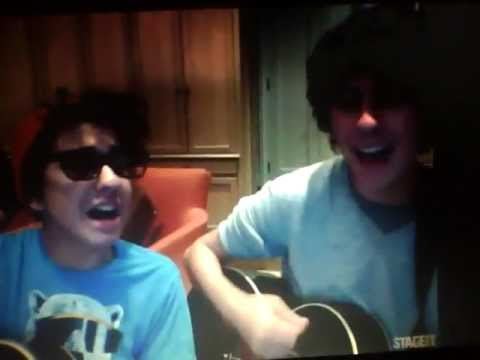 Nat And Alex Wolff Preform NEVER BEFOR HEARD SONG 1/25/2012 Mp3