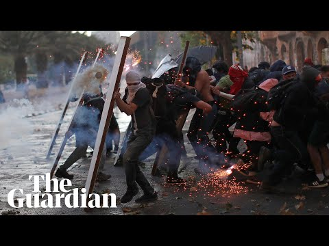 Tens of thousands protest in Chile: 'We've reached a crisis'