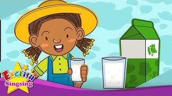Do you like milk? Yes, I do. (Liking) - Exciting Rap for Kids - English song with lyrics