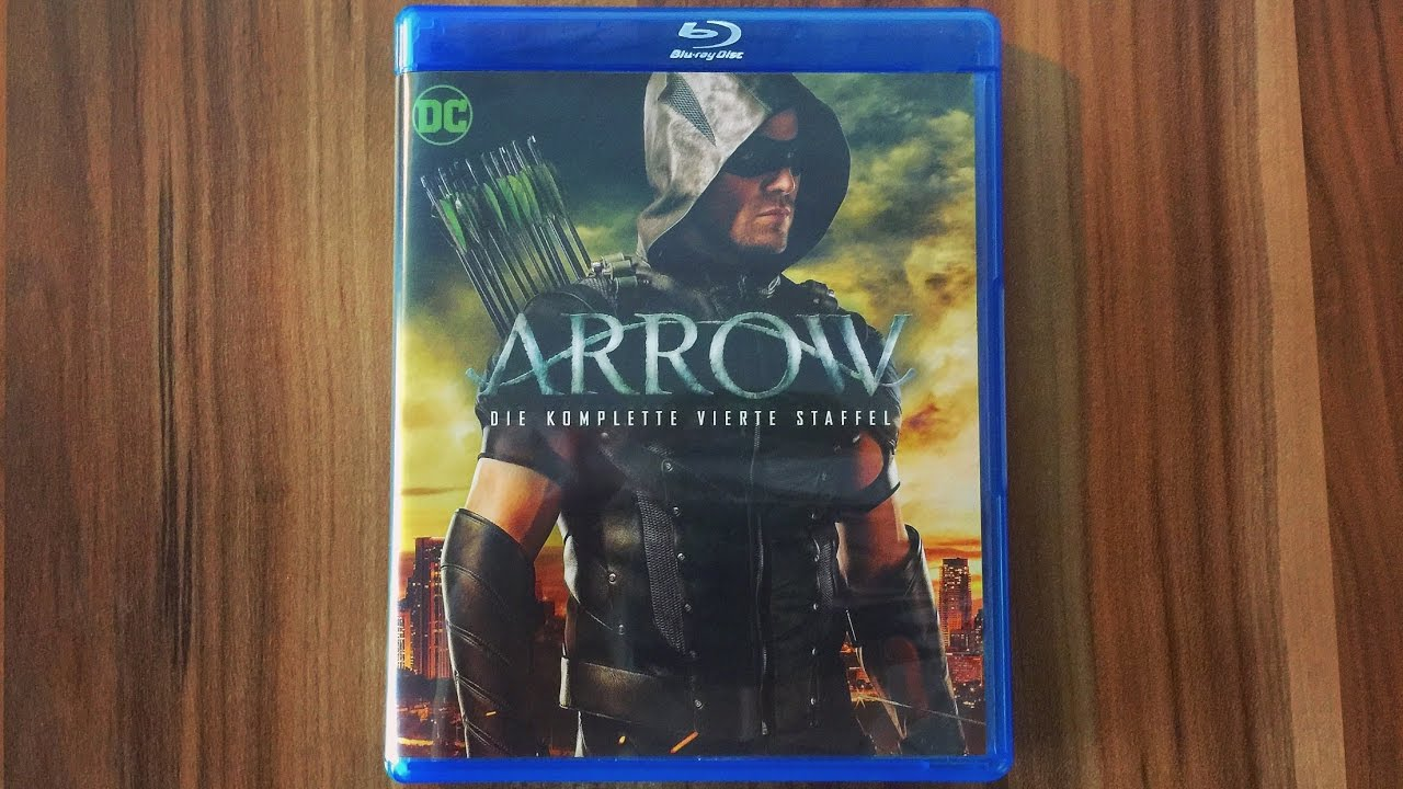 Arrow Staffel 4 Blu Ray