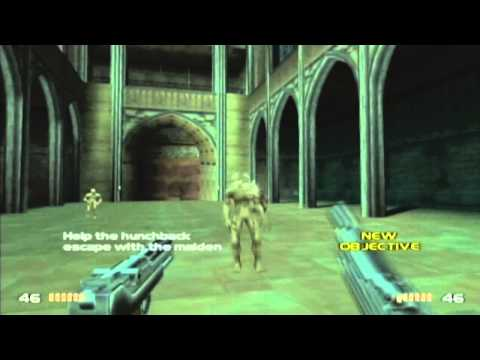 GCN Timesplitters 2 - (Story-Hard) 1895 Notre Dame Cathedral.