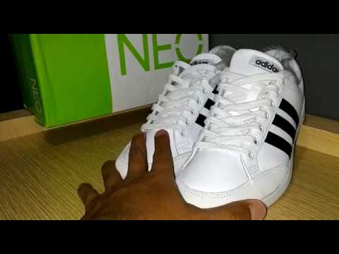 huge discount 7769d 4ed02 SNEAKERS Adidas ORIGINAL Neo Caflaire White Review (Bahasa Indonesia)