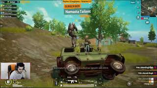 ALL CARS IN SERVER FOLLOW ROWDY TO KILL / ROWDY GAMING PUBG MOBILE HILGLIGHT