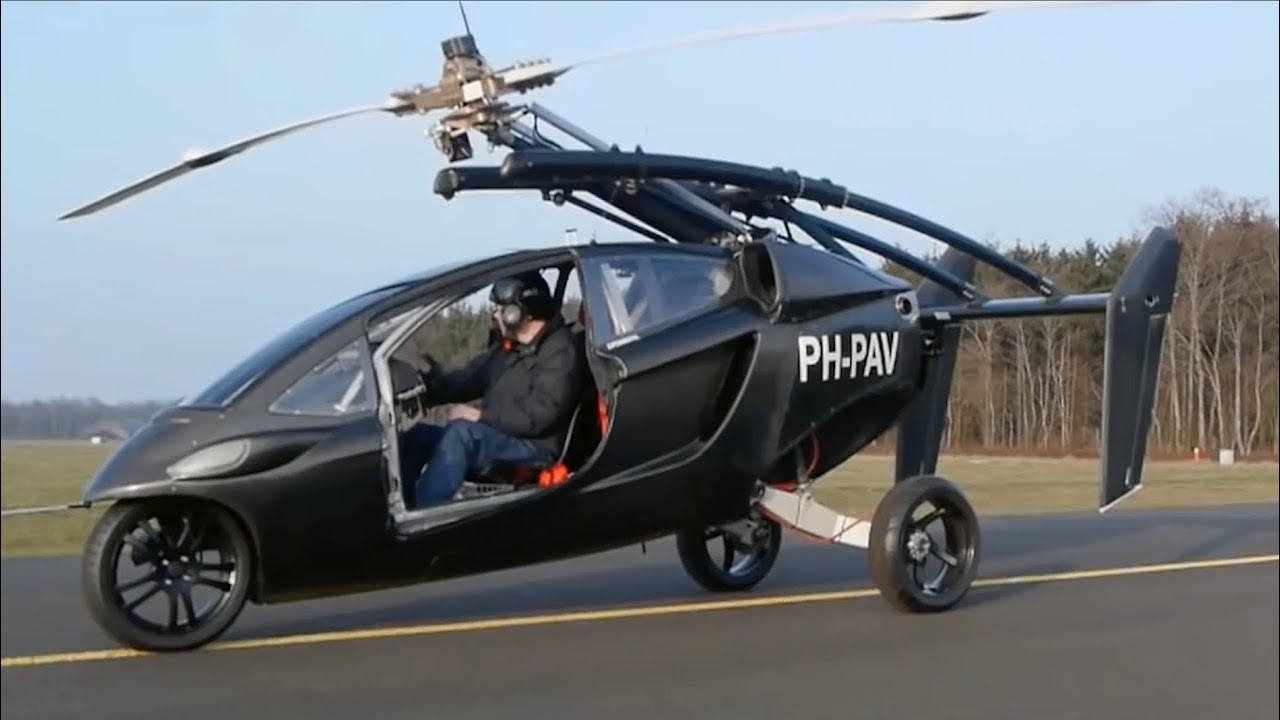 The Flying Car Of The Future Has Finally Arrived Youtube