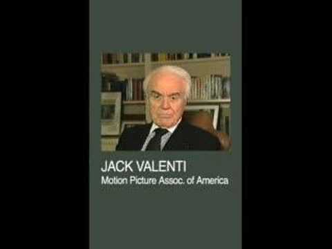Jack Valenti on Creative Commons