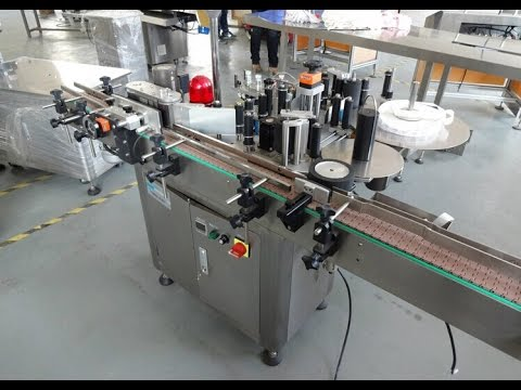 Automatic Round Bottle Labeler Machine For Australian