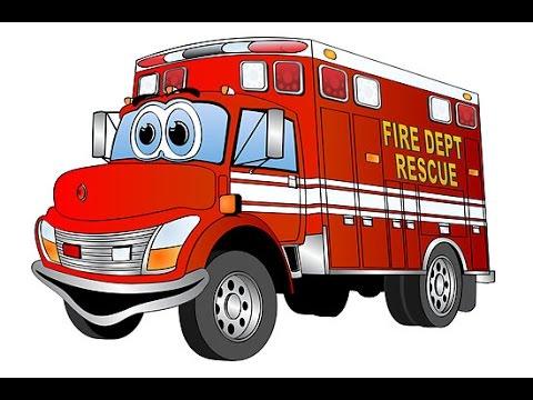 Dessin anim camions de pompiers youtube - Image camion pompier ...