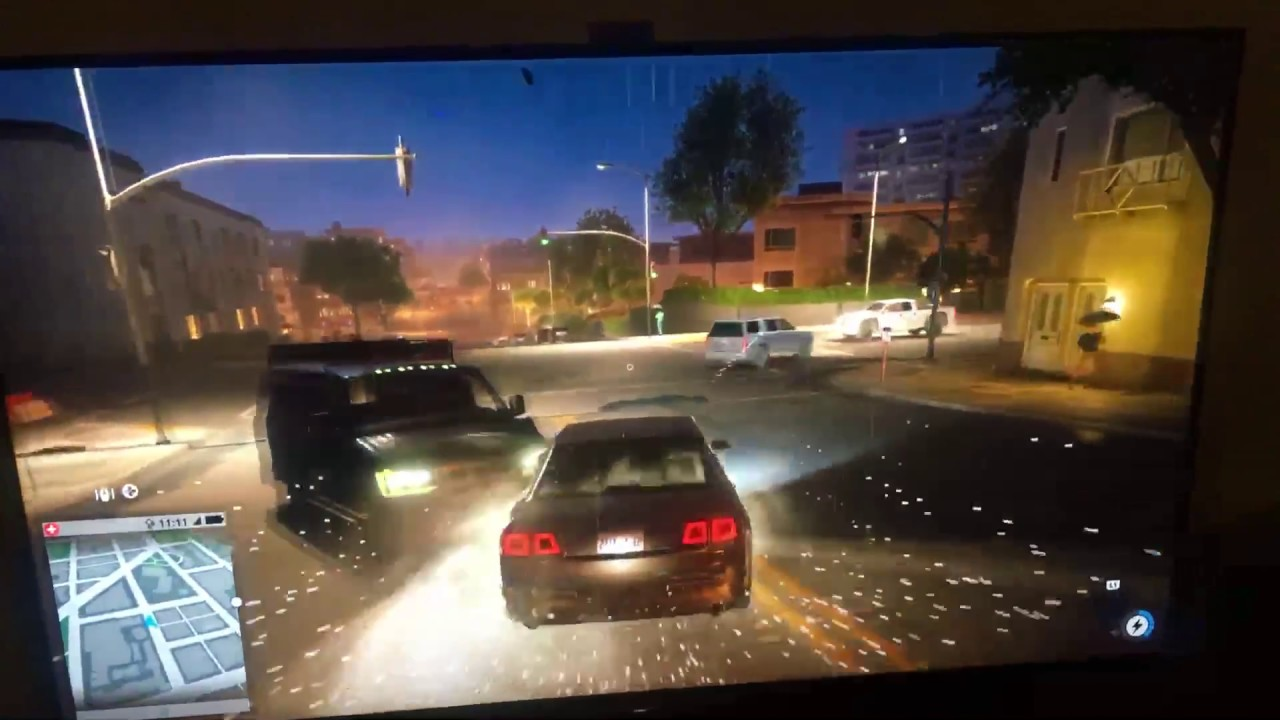 Watch Dogs 2 On Sony Bravia A1 Oled Hdr Top Tv Ps4 Pro 4k