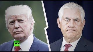 «Расходились во мнениях»: почему Трамп уволил Тиллерсона с поста госсекретаря США