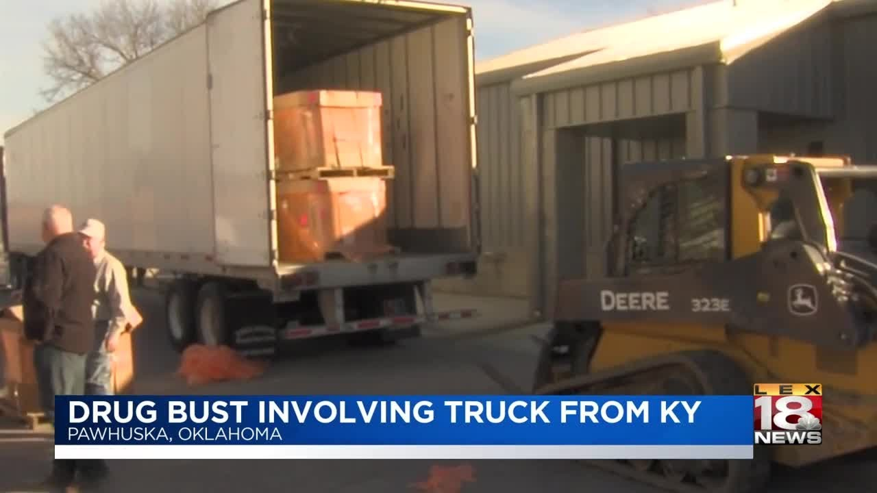 Drug Bust Involving Truck from KY