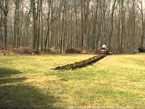 Husqvarna 2754 GLS Plowing new garden spring 2012 1 YouTube
