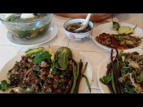 C/w Nana: Lao Beef Salad (ລາບຊີ້ນ == Larb Seen)
