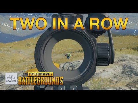 Two squad wins in a row. Easy. PLAYERUNKNOWN'S BATTLEGROUNDS