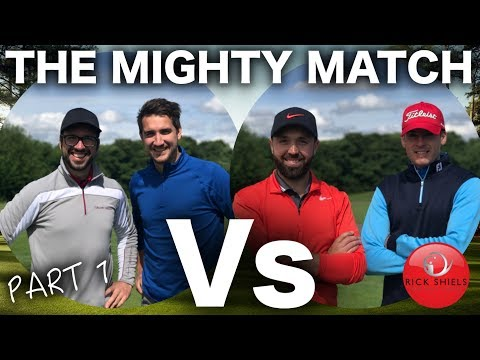THE MIGHTY MATCH PART 1 - RICK & JAMES Vs PETE & ANDY