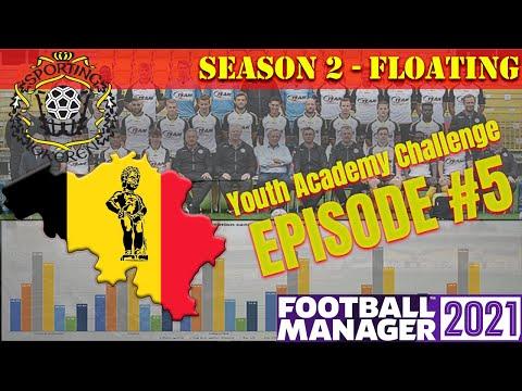 Youth Academy Challenge   Belgium    KSC Lokeren-Temse #5 - Floating   Football Manager 2021