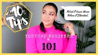 TOP 10 TIPS TO GROW YOUR CHANNEL FAST IN 2020-2021   YOUTUBE BEGINNER'S GUIDE   Laksmy A Sanchez