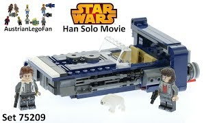 Lego Star Wars 75209 Han Solo´s Landspeeder - Lego Speed Build Review